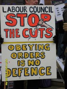 No to cuts!